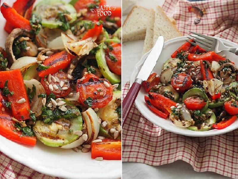 Пряные овощи гриль