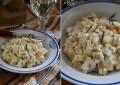 Сельдерей со сливочным соусом с розмарином