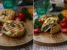 Булочки фаршированные овощами гриль и сыром