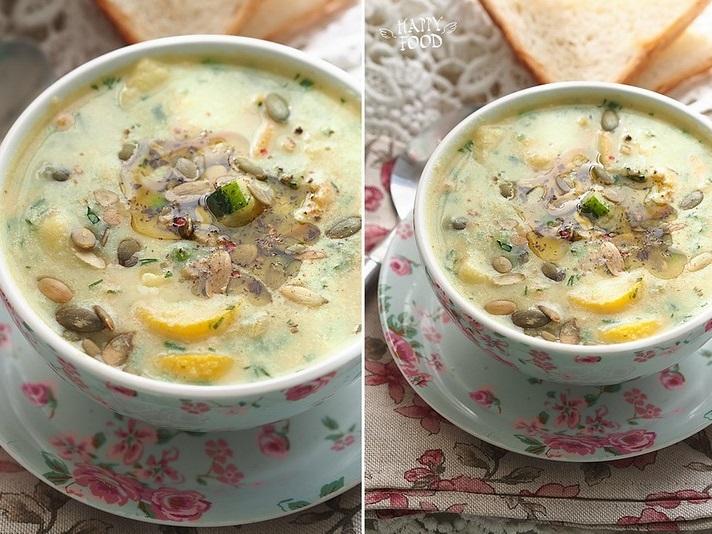 Овощной суп с карри и цветной капустой
