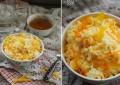 Утренняя рисовая каша на кокосовом молоке с манго