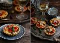 Тарталетки с овощами и оливками