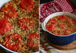 Запеканка с томатами и пастой - pasta e pomodori al forno