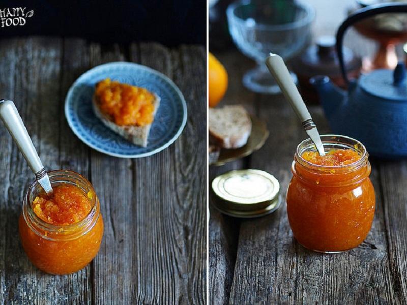 Морковно-апельсиновый конфитюр с имбирем