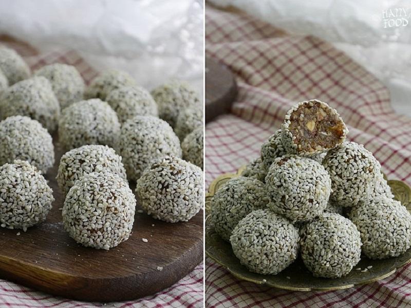 Полезные конфеты из сухофруктов