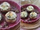 Портобелло запеченные с сырами