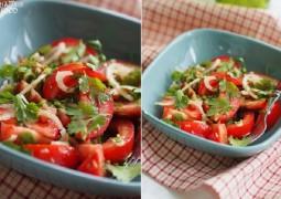Салат томатный с кинзой - Haceinda salad