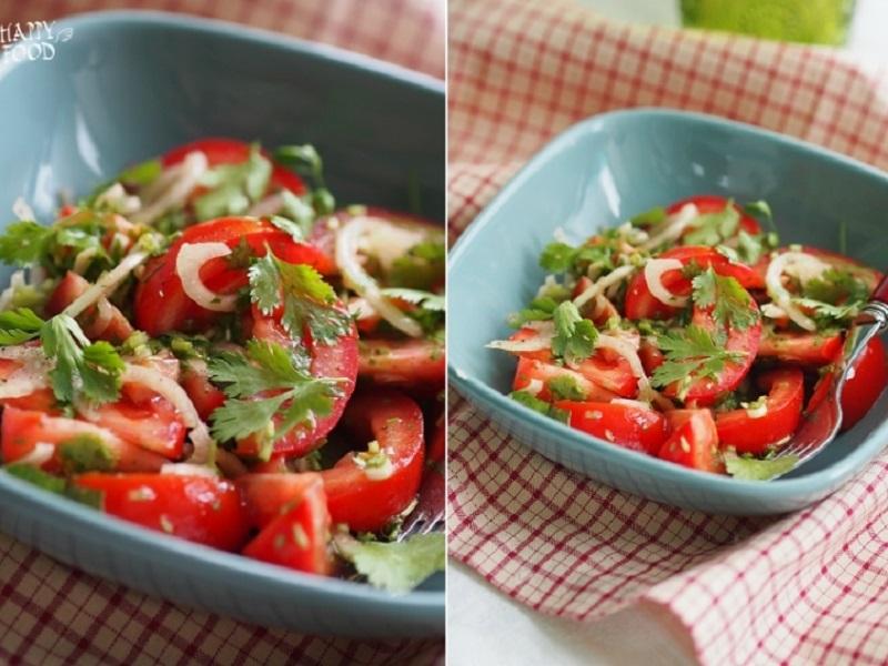 Салат томатный с кинзой — Haceinda salad