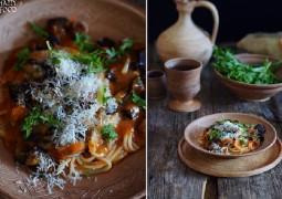 Сицилийская паста с баклажанами Pasta alla norma