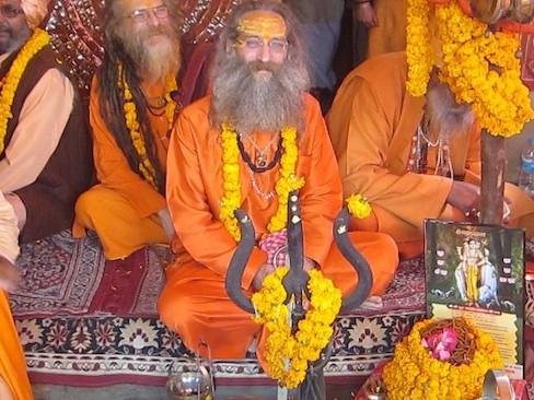 Рампури Баба «На Западе люди конструируют свою собственную йогу и тантру»