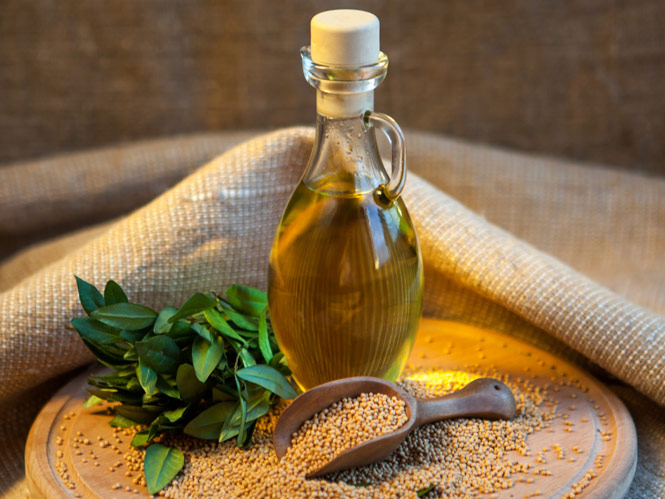 Горчичное масло: польза и применение