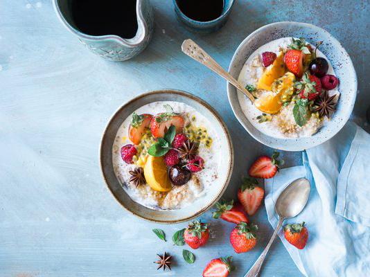 Завтрак по Аюрведе – 10 здоровых идей