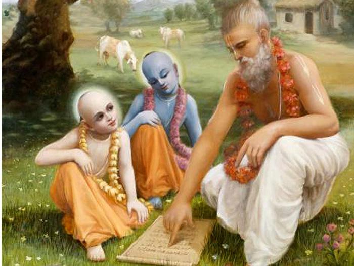 Священные писания всего лишь указывают путь; вы сами должны совершать садхану, чтобы обрести благо